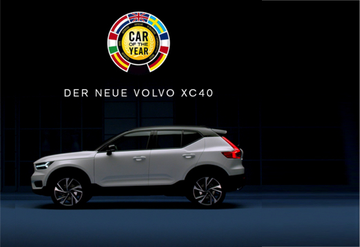 volvo xc40 car of the year 2018 mark tter automobile. Black Bedroom Furniture Sets. Home Design Ideas